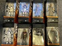 Star Wars black series The Mandalorian Figure LOT