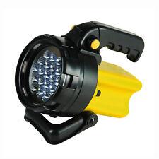 TORCIA LAMPADA  PORTATILE 19 LED RICARICABILE CON ADATTATORE AUTO  (27210)
