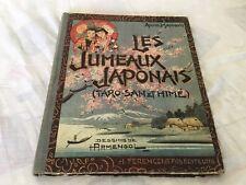 Livres Anciens Bd  Les Jumeaux Japonais  Par Anne Mangin Dessins De H.armengol