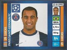 PANINI UEFA CHAMPIONS LEAGUE 2013-14- #187-PARIS SAINT-GERMAIN-LUCAS
