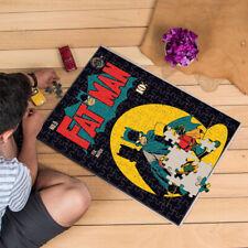 Heart 201/500/1000 Pieces Jigsaw Puzzles Fat Man Donut Batman Game