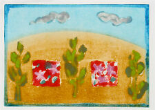 Mary Cane Robinson Abstract Monoprint