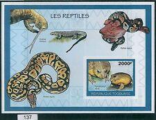 Togolese Sheet Postal Stamps