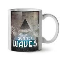 Summer Waves Sea NEW White Tea Coffee Mug 11 oz | Wellcoda