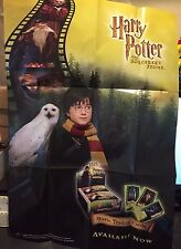 "HARRY POTTER And The Sorcerer's Stone POSTER 19x27"" RARE!!  Wizards of the Coast"