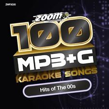 Zoom Karaoke 100 MP3+G Hits Of The 00s - DVD-ROM - needs Computer / MP3+G player