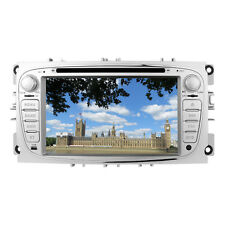 "Ford Mondeo Focus Galaxy S-Max 7"" HD Touch Screen Car DVD Player Stereo GPS USB"