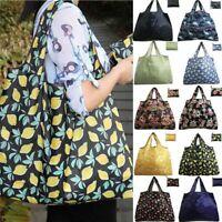 Reusable Grocery Shopping Eco Bags Nylon Grab Bag Pack Tote Handbag Gracious