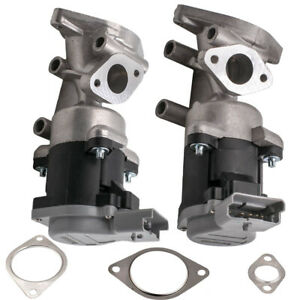 Pair EGR Valves Left & Right 5 PINS for Discovery 3 & 4 Range Rover Sport 2.7