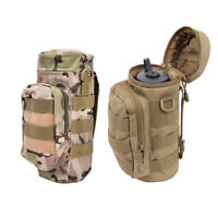 Military molle water bottle bag kettle pouch+mess pouch tactical outdoor gearNTP