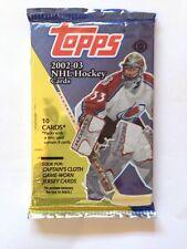 2002-03 Topps Hockey HOBBY Pack (Henrik Zetterberg RC LeMieux  Roy Auto)?