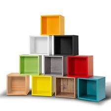 Cube Regalwürfel Regal in vielen Farben Montage werkzeuglos mit Clic System