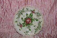PIATTO fondo maiolica alla rosa Pesaro Molaroni cm. 22 (8) V3 plate  ^