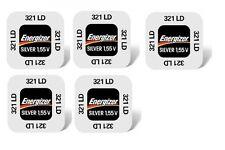 ENERGIZER Set di 5 batterie 321 SR616SW ossido d'argento 1,55v