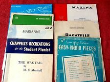Piano Score Easy Listening Piano Sheet Music & Song Books