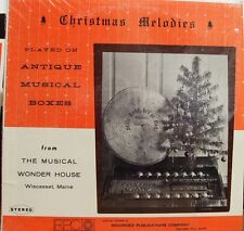 CHRISTMAS MELODIES PLAYED ON ANTIQUE MUSICAL BOXES FPCO CUSTOM
