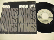 WINGS  London Town  1 SP