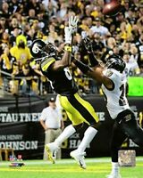 """Antonio Brown Pittsburgh Steelers NFL Game Action Photo (8"""" x 10"""")"""