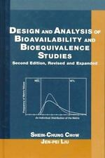 Design and Analysis of Bioavailability and Bioequivalence Studies, Second Editio
