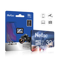 Netac Micro SD Card 32GB 90MB/S Memory Card TF Card For Phone/PC/Camera/Video/VR