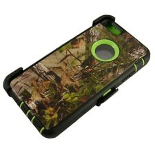 Green Tree For Apple iPhone 6S Plus Defender Case w/ Belt Clip fits Otterbox