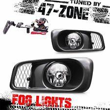 Stealth For 1999-2000 Honda Civic Si Type R Chrome Housing Clear Lens Fog Lights