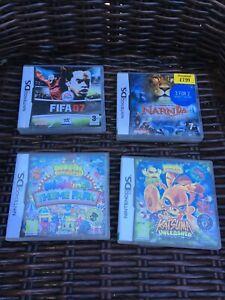 Nintendo DS Game Bundle x 4