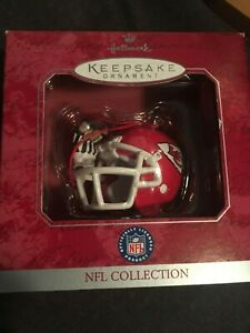 Hallmark Keepsake Ornament Kansas City Chief NFL Collection Christmas Mouse