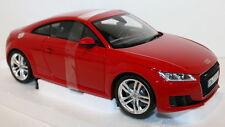 Minichamps 1/18 SCALA AUDI TT COUPE 3rd generazione Rosso Tango Modello Diecast Auto
