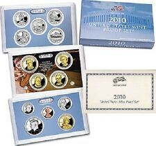 2010-S FOURTEEN 14 COINS SAN FRANCISCO PROOF SET WITH COA AND BOX