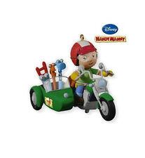 2010 Hallmark HANDY MANNY Disney Ornament Motorcycle Tools Fix-It