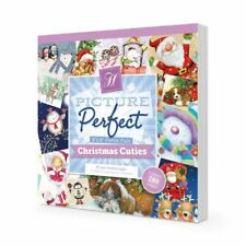 Hunkydory ~ Picture Perfect Paper Pad ~ 48 8x8 sheets ~ Christmas Cuties