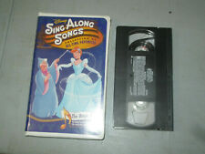 Disney Sing Along Songs - The Magic Years (VHS) Tested Clamshell