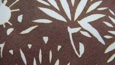 MOSCHINO BROWN KHAKI FLOWER ART BEAUTIFUL ITALY SILK NECKTIE TIE MJL0817C #Y18
