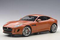 Autoart 73653 - 1/18 Jaguar F-Type R Coupe (2015) - Firesand Metallic / Orange