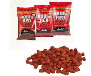 NEW Dynamite Baits ROBIN RED 2mm, 4mm, 6mm Carp Feed Pellets 450g Day Session