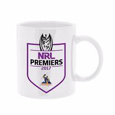2017 Premiership Premiers Melbourne Storm NRL Coffee Tea Mug Cup Man Cave Bar