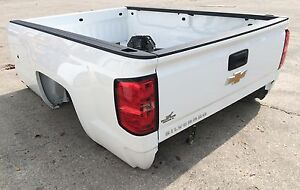 2007-2019 CHEVROLET SILVERADO 1500 2500 3500 8ft BED TAILGATE New Takeoff