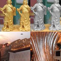 100Pcs 14x14cm Schlagmetall Blattmetall Gold/Silber/Kupfer vergolden Blattgold