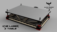 K40 Laser 40W CO2 Laser Z Axis Adjustable bed Stepper Version