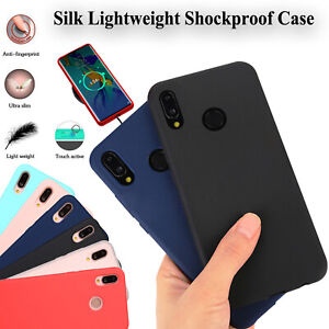 Matte Soft Silicone Case TPU Shockproof Cover Skin For Huawei P20 P30 Lite & Pro