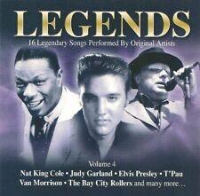 Legends 4 Nat King Cole, Frank Sinatra, Judy Garland, Elvis Presley, Jerr.. [CD]