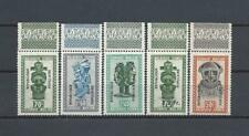 CONGO Stanleyville Republique (1960 COB#1-5 Mask, Margins) MNH SuperB C.V. € 250