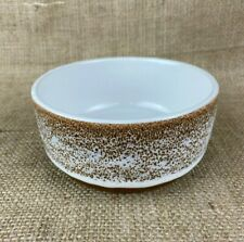 Creative Co-op Stoneware Dipping Bowl with White Glaze