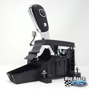 11 thru 14 F-150 OEM Ford Flow Thru Floor Console Shifter and Handle Knob BLACK