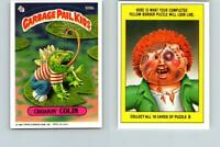 1986 SERIES 3 TOPPS GPK GARBAGE PAIL KIDS 109b CROAKIN' COLIN COPYRIGHT