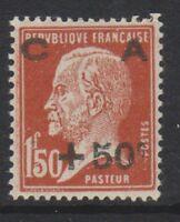 France - 1929, 1f50 + 50c Chestnut Sinking Fund stamp - M/M - SG 478