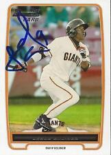 Jesus Galindo San Francisco Giants 2012 Bowman Signed Card
