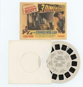The Stranger Wore a Gun - Randolph Scott Claire Trevor View-Master 3D Movie Reel