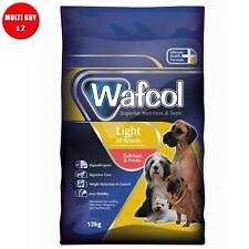 2 x Wafcol Adult Dog Light Salmon & Potato 12kg Multi-Buy